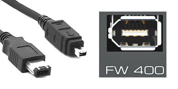 Firewire接続