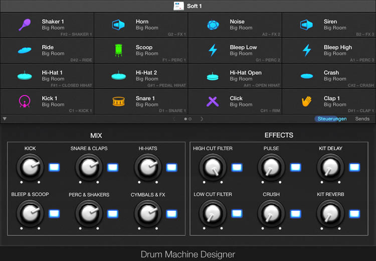 Drum Machine Designer